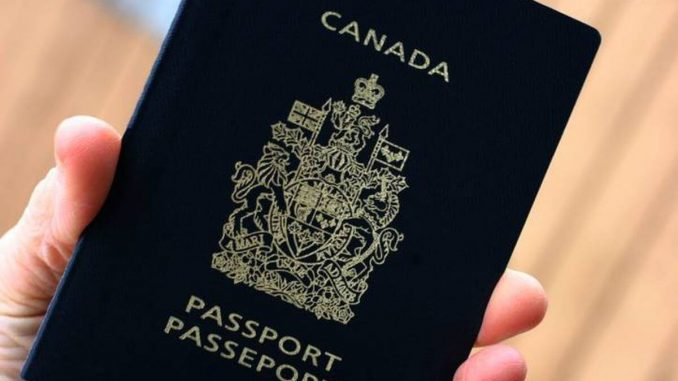 Pasaporte canadiense