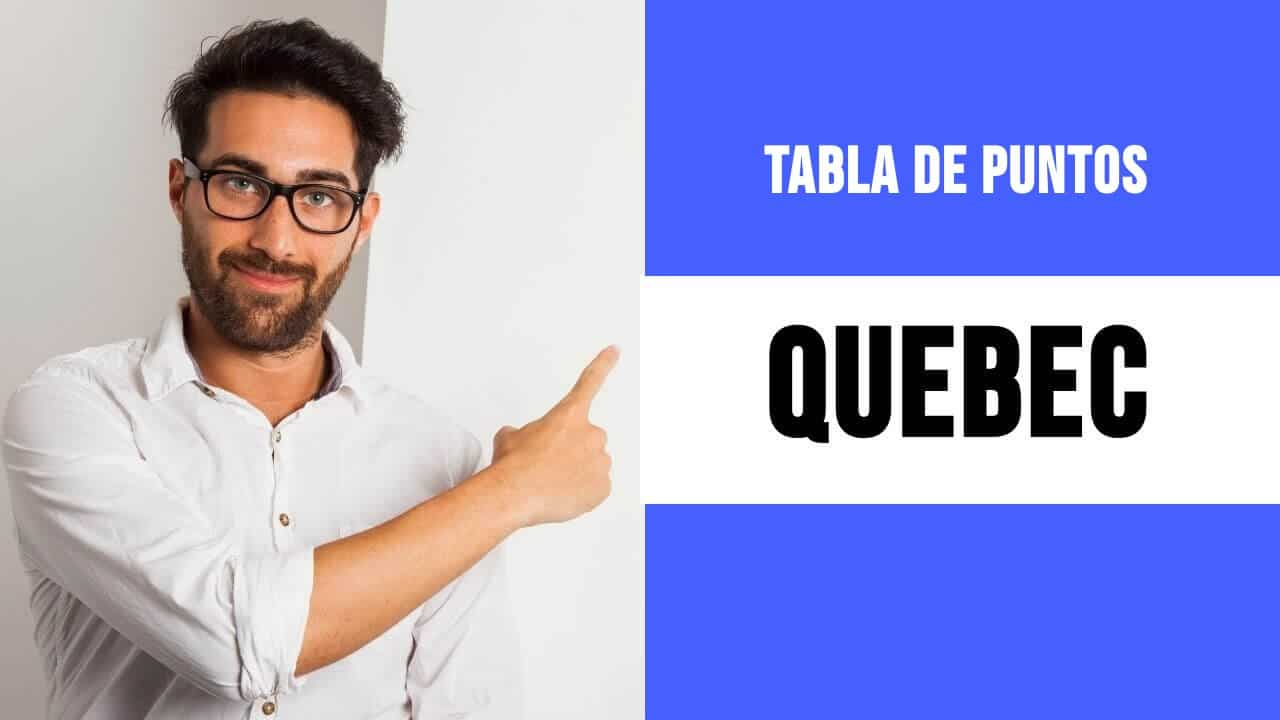 Tabla de puntos de Quebec